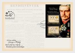 Hongarije / Hungary - Postfris / MNH - FDC Sheet 200 Jaar Mihaly Gervay 2019 - Ongebruikt