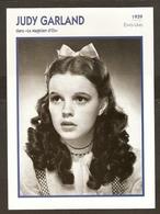 PORTRAIT DE STAR 1939 ETATS UNIS USA - ACTRICE JUDY GARLAND LE MAGICIEN D'OZ - ACTRESS CINEMA - Fotos