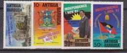 Antigua & Barbuda - Indipence Set MNH - Antigua E Barbuda (1981-...)