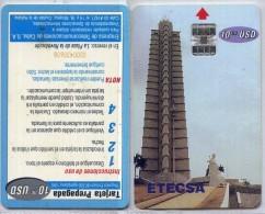 CUBA 5a-Plaza De La Revolucion-reverso Invertito - Cuba