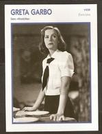 PORTRAIT DE STAR 1939 ETATS UNIS USA - ACTRICE GRETA GARBO NINOTCHKA - ACTRESS CINEMA - Fotos