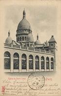 Paris Eglise Du Sacré Coeur Edit Kunzli  Envoi à Villa Devey Mustapha Supérieur Alger - Kirchen