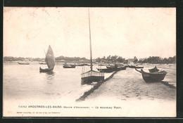 CPA Andernos-les-Bains, Le Nouveau Port - Andernos-les-Bains