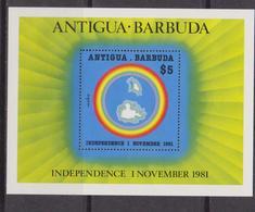 Antigua & Barbuda - Indipence Sheet MNH - Antigua E Barbuda (1981-...)