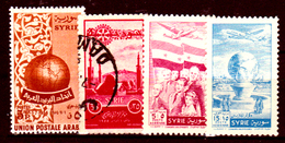Siria-00165 - Posta Aerea 1955 (++/o) MNH/Used - Senza Difetti Occulti. - Siria
