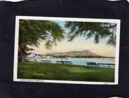 86072    Stati  Uniti,  Hawaii,  Waikiki Beach,  Honolulu,  VG  1931 - Honolulu