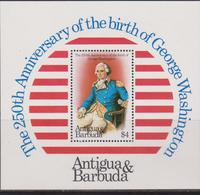 Antigua & Barbuda - G. Washington Sheet  MNH - Antigua And Barbuda (1981-...)