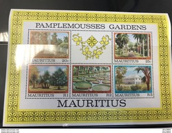 MAURICE Neuf BF 12 Pamplemousse Garden - Mauritius (1968-...)