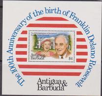 Antigua & Barbuda - Roosevelt Sheet  MNH - Antigua And Barbuda (1981-...)
