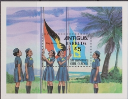 Antigua & Barbuda - Scout Sheet  MNH - Antigua E Barbuda (1981-...)