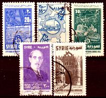 Siria-00167 - Posta Aerea 1956 (o) Used - Senza Difetti Occulti. - Siria