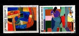 FRANCE - 1986 - YT N° 2413 / 2414 - Oblitérés - Série Artistique - Frankreich