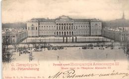 Musée Russe De L' Empereur Nicolas III Sint-Petersburg RUSSIA 1908 - Russie