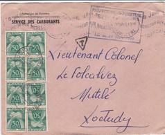 Lettre Taxée - Marcophilie (Lettres)