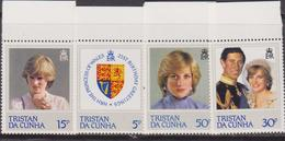 Tristan Da Cunha  - Diana Set MNH - Tristan Da Cunha