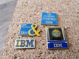 4  Pins  Informatique IBM Client D Abord Services - Informatik