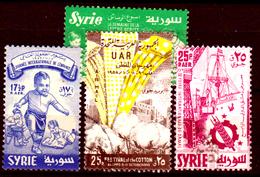 Siria-00168 - Posta Aerea 1957 (++/o) MNH/Used - Senza Difetti Occulti. - Siria
