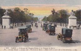 PARIS - (75) -  CPA BIEN ANIMÉE . - Champs-Elysées