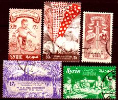 Siria-00169 - Posta Aerea 1957 (++/o) MNH/Used - Senza Difetti Occulti. - Siria