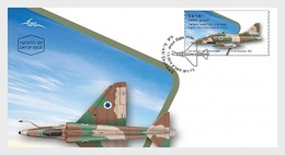Israël / Israel - Postfris / MNH - FDC Gevechtsvliegtuigen 2019 - Israël