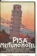 Italie Toscane PISE  PISA NETTUNO HOTEL ...G - Pisa