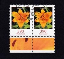 BRD, Waagerechtes Paar Nr.2534, Gest. (T 11796) - [7] República Federal