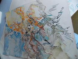 Jacque De Panafieu. Magnifique Aquarelle.Expositions Particulières à Paris : 1954, 1957 Et 1958 à La Galerie Arnaud  Sal - Gouaches
