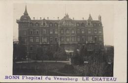 CPA Carte Photo Postkarte Bonn L'hôpital Du Venusberg Le Château - Bonn