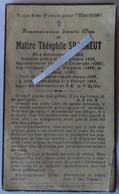 Hondeghem - Wemaers Cappel : Image Mortuaire De L'abbé SPANNEUT Marie Jh Louis Théophile - Décès
