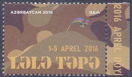 2019. Azerbaijan, Fights, Lala Tapa, 1v, Mint/** - Azerbaïjan