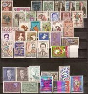 (Fb).Tunisia.1959-66.Lotto Di Serie Complete + Quartina Nuove,gomma Integra,MNH (2 Scan) (127-134/15) - Tunisia (1956-...)