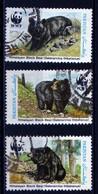 Pakistan 1989 Asiatic Black Bear / Ours Brun / Animaux WWF 3x 4 Rs Mi 759 760 762 - Pakistan