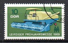 RDA. N°1144 Oblitéré De 1969. Moissonneuse-batteuse. - Agriculture