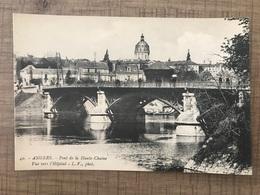 ANGERS Pont De La Haute Chaîne Vue Vers L'hopital - Angers