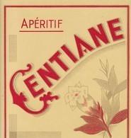 APERITIF GENTIANE - Etiquettes