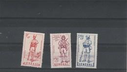 Sénégal  1941 Yvert  Série 170 à 172 ** Neufs Sans Charnière - Défense De L'Empire - Sénégal (1887-1944)