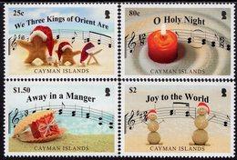 Cayman Islands - 2018 - Christmas - Hymns - Mint Stamp Set - Cayman Islands