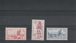 Togo 1941 Yvert  Série 208 à 210 ** Neufs Sans Charnière - Défense De L'Empire - Togo (1914-1960)