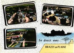(CPSM) EN DIRECT DE BRAZEY EN PLAINE,MULTI VUES    REF 59939 - Other Municipalities