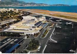 06 - NICE : Aéroport De LUCE - CPSM Grand Format Postée 1979 - Alpes Maritimes - Aeródromos