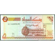 TWN - SUDAN 51a - 5 Dinars 1993 Prefix GC UNC - Sudan
