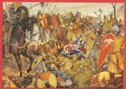 Battle Abbey, East Sussex, Battle Of Hastings, Saxons And Normans At Battle 1066 - Peintures & Tableaux