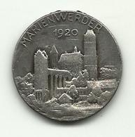 Germania - Medaglia Di Marienwerder - Altri