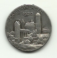 Germania - Medaglia Di Marienwerder - Germania