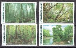 Thailand 1996 - 100 Years Royal Forest Dept. - Michel 1723-26 Somchai 1667-70  MNH, Neuf, Postfrisch - Thailand