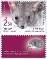 Israël / Israel - Postfris / MNH - Complete Set Bedreigde Diersoorten 2019 - Ongebruikt (met Tabs)