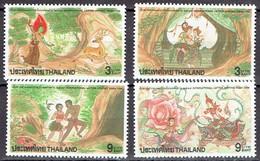 Thailand 1996 - Int. Letter Writing Week - Michel 1727-30 Somchai 1671-74  MNH, Neuf, Postfrisch - Thailand