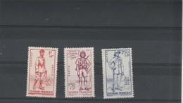 Nouvelle Calédonie 1941 Yvert  Série 190 à 192 ** Neufs Sans Charnière - Défense De L'Empire - Neufs