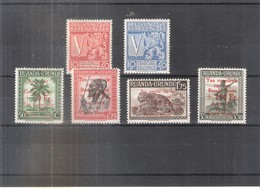 Ruanda-Urundi 148/52 - 2 Séries Complètes - XX/MNH - 1924-44: Neufs