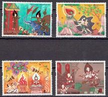Thailand 1997- Asalhapuja Day - Michel 1787-90 Somchai 1722-25  MNH, Neuf, Postfrisch - Thailand